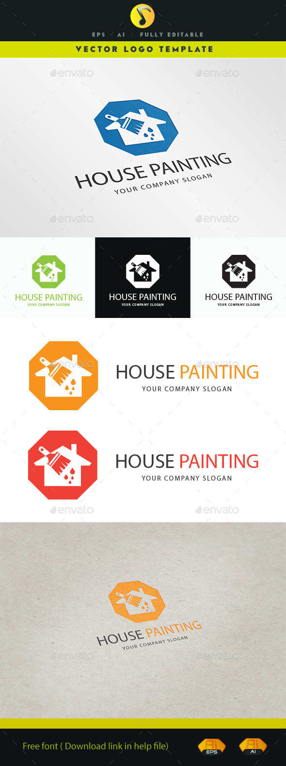 GraphicRiver House Painting 11263012