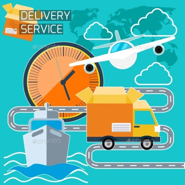 GraphicRiver Delivery Service 11263090