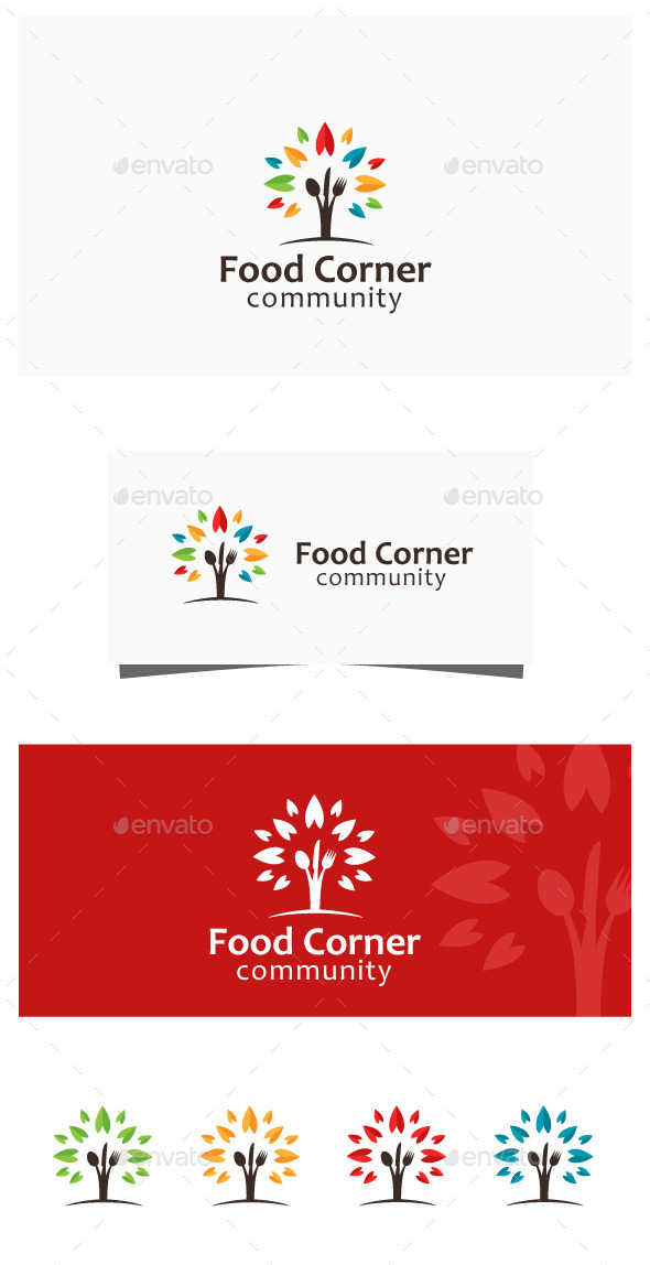 GraphicRiver Food Community 11263453