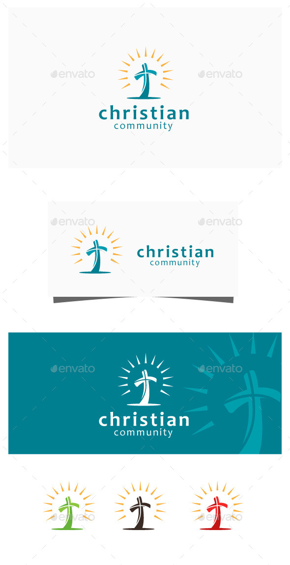 GraphicRiver Christ Community 11264111