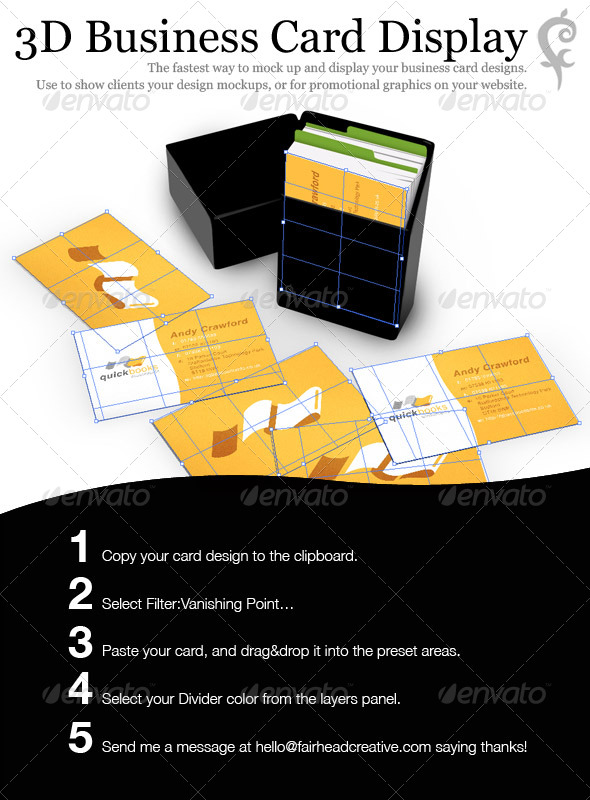 GraphicRiver 3D Business Card Display 139181
