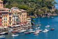 Colorful houses and boats in Portofino. - PhotoDune Item for Sale
