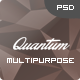 Quantum - Personal Multipurpose Design PSD - ThemeForest Item for Sale
