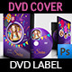 Birthday Party DVD Cover and DVD Label Template 3 - GraphicRiver Item for Sale