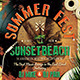 Summer Fest Flyer Poster Template - GraphicRiver Item for Sale