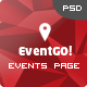 EventGo - Onepage Event Landing Page - ThemeForest Item for Sale