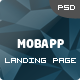 MobApp - One Page App Landing Page - ThemeForest Item for Sale