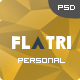 Flatri - OnePage Portfolio Template - ThemeForest Item for Sale