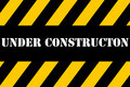 Under construction banner - PhotoDune Item for Sale