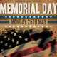 Memorial & Independence Day Flyer Template - GraphicRiver Item for Sale