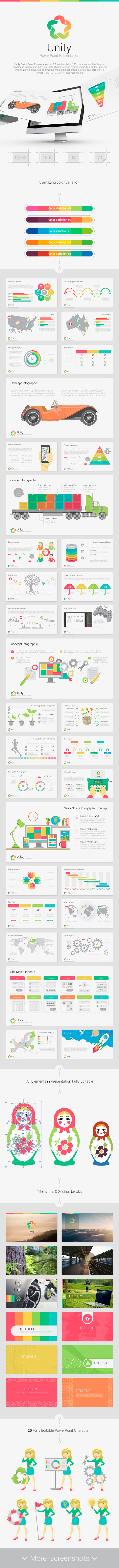 GraphicRiver Unity PowerPoint 11265090