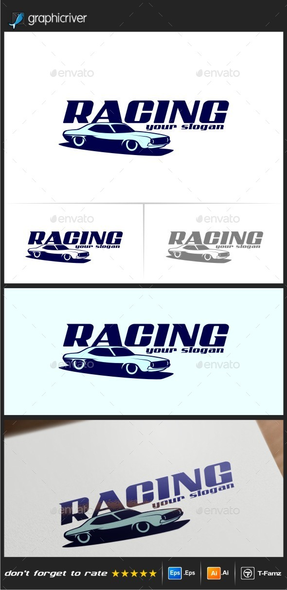 GraphicRiver Racing Logo Templates 11265084