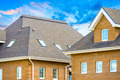 house with a gable roof window - PhotoDune Item for Sale