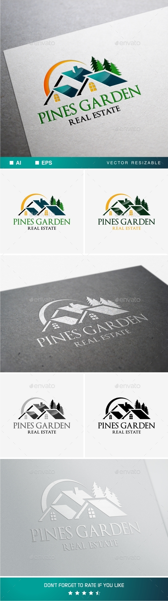GraphicRiver Pines Garden Real Estate 11265331