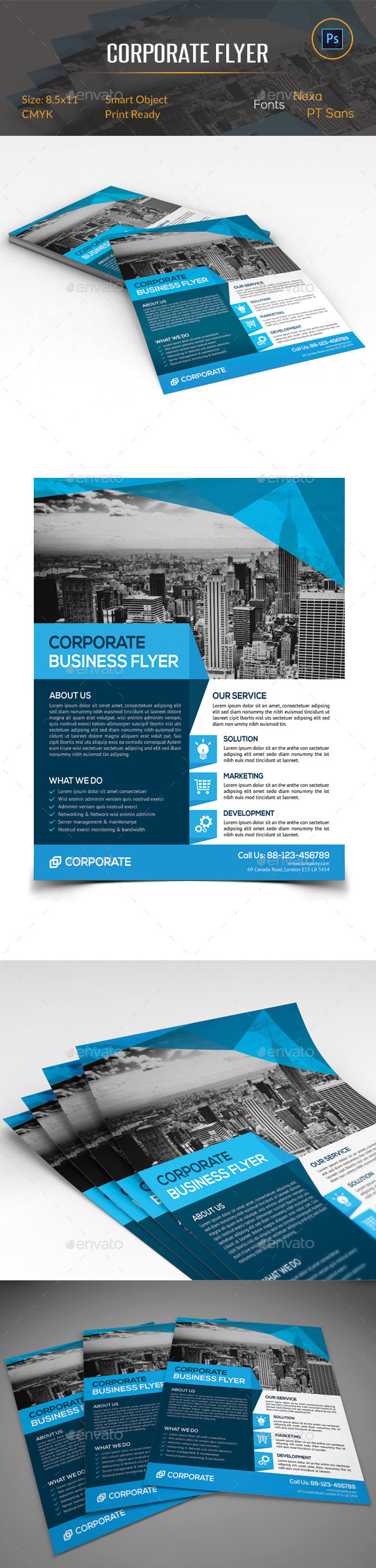 GraphicRiver Corporate Business Flyer 11265387