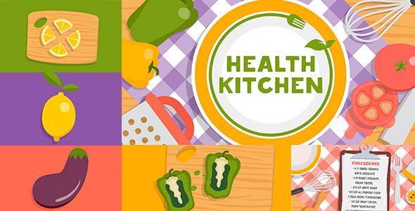 Health Kitchen TV Show Pack