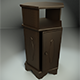 Hexagonal Wooden Cabinet