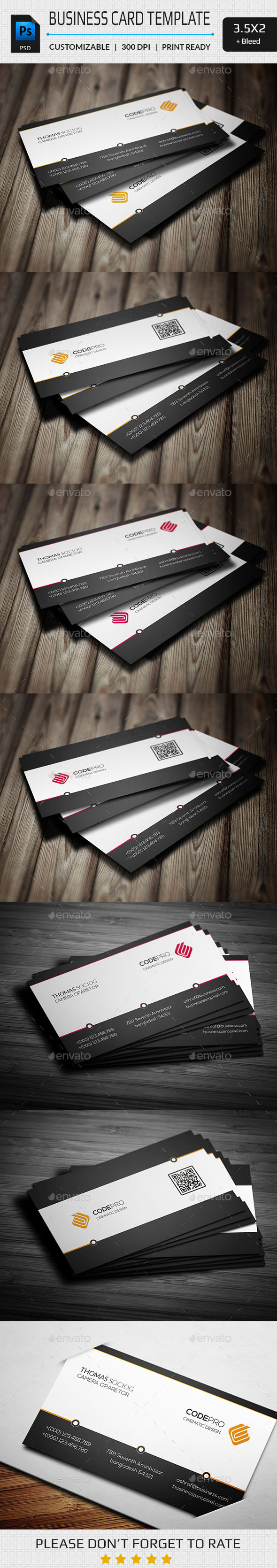 GraphicRiver Simply Business Card 11265763