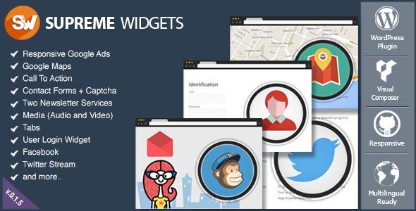Supreme Widgets Social Marketing WordPress Plugin - CodeCanyon Item for Sale
