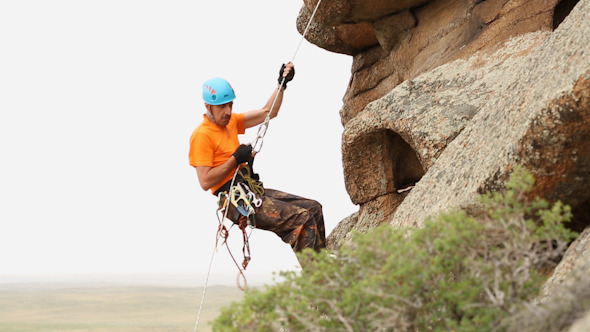 Man Trains to Conquer the Rock 11