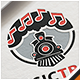 Music Train Note Logo - GraphicRiver Item for Sale