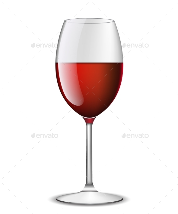 GraphicRiver Red Wine in Glass 11266030