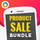 Product Sale Banners Bundle - 3 Sets - GraphicRiver Item for Sale