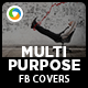Multipurpose Facebook Covers - 2 Designs - GraphicRiver Item for Sale