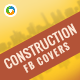 Builder Facebook Covers - 2 Designs - GraphicRiver Item for Sale
