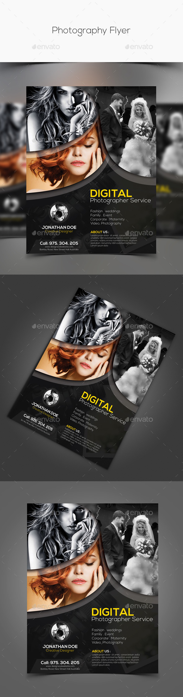 GraphicRiver Photography Flyer 11267733