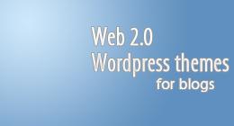 Web 2.0 Wordpress Themes for Blogs
