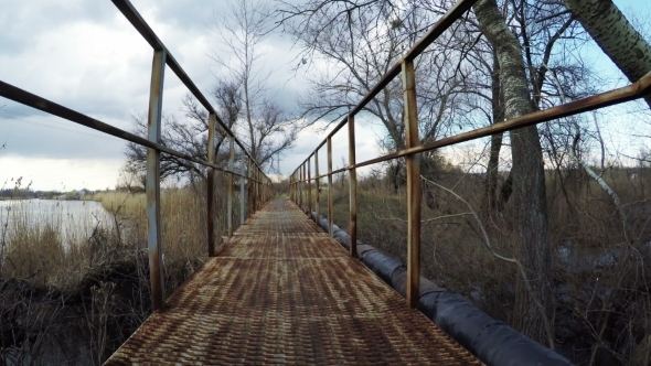 VideoHive Bridge Over River 11267936