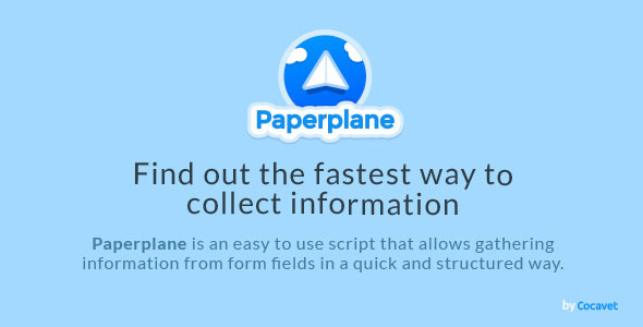 CodeCanyon PAPERPLANE 9813345