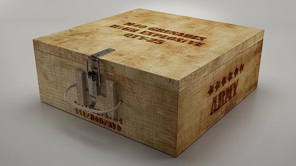 3DOcean Grenade Box 11268009