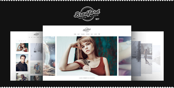 ThemeForest Bradford Photographer Portfolio WordPress Theme 11268167