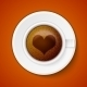 Cup of Coffee with Heart - GraphicRiver Item for Sale