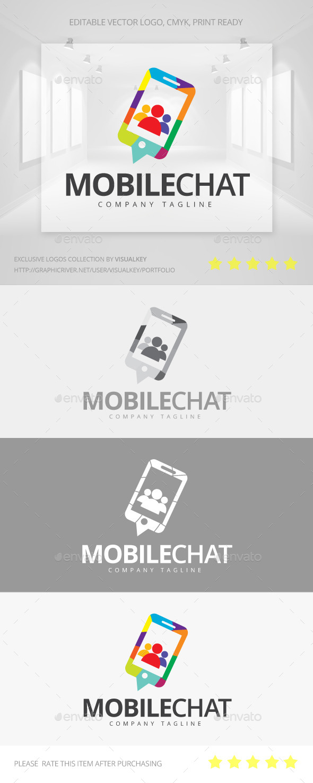 GraphicRiver Mobile Chat Logo 11268315