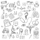 Health Care and Medicine Doodle - GraphicRiver Item for Sale