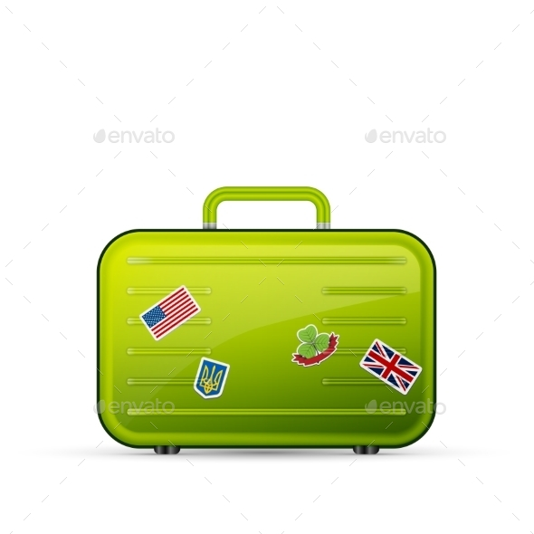 GraphicRiver Suitcase Tourist 11268636