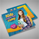 Kids Summer Camp Square 3-Fold Brochure - GraphicRiver Item for Sale