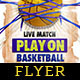 Play On Basketball Flyer Template - GraphicRiver Item for Sale