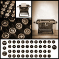 Vintage Typewriter Image Collection - PhotoDune Item for Sale
