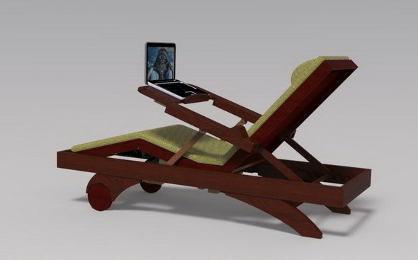 3DOcean desktop chair 11269214