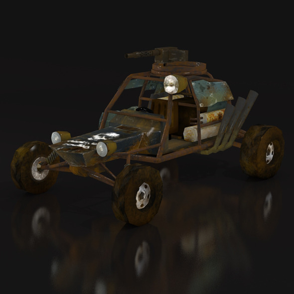 postapo Buggy 01 - 3DOcean Item for Sale