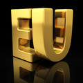 EU gold letters - PhotoDune Item for Sale