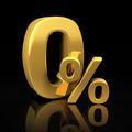 Zero percent gold letters - PhotoDune Item for Sale