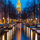 South Church Zuiderkerk Amsterdam at dusk - PhotoDune Item for Sale