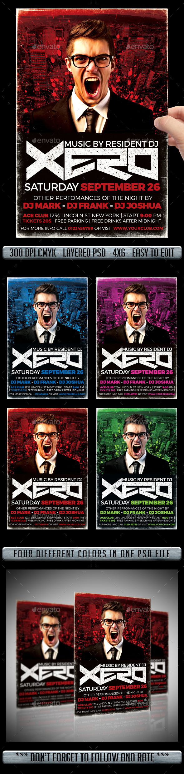 GraphicRiver DJ Flyer 11269811