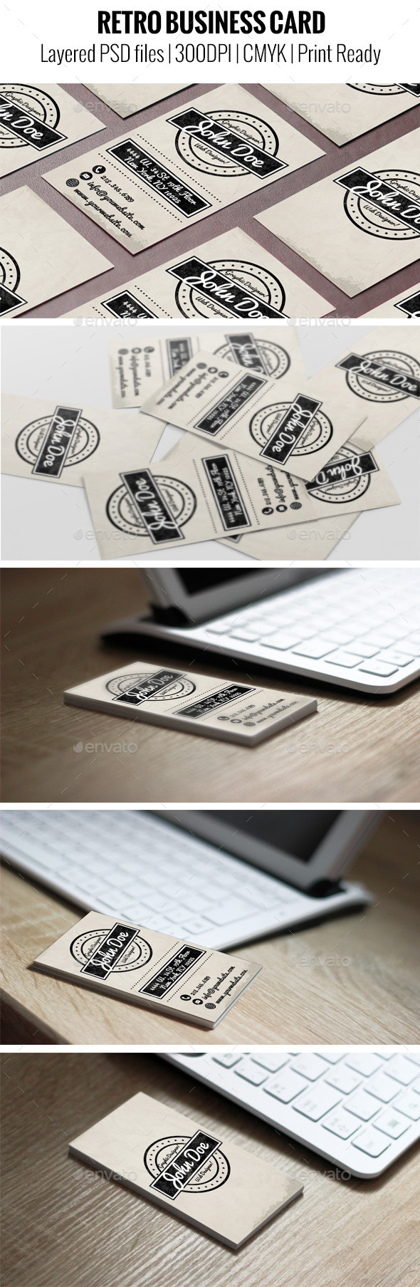 GraphicRiver Retro Business Card 11159438