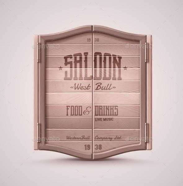 GraphicRiver Saloon Doors 11269867